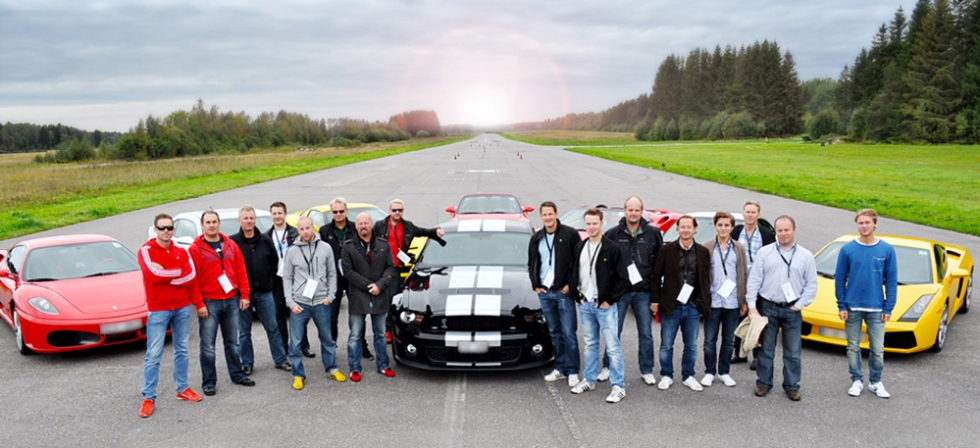 Top Gear Airfield Sverige